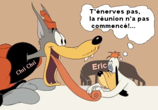 Réunion du Bureau  Janvier 2018